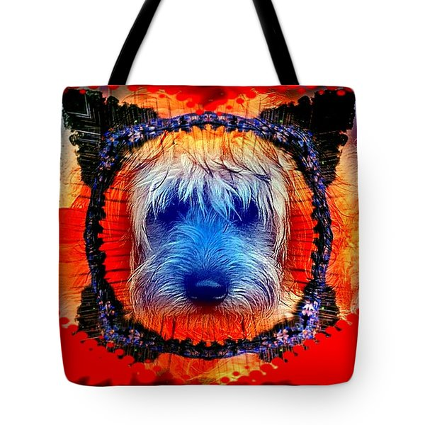 One Little Indian Tote Bag by Robert Orinski