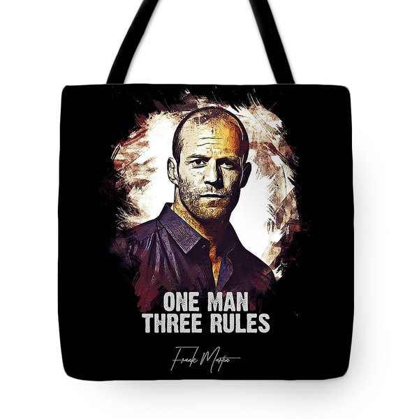 One Man Three Rules - Transporter Tote Bag