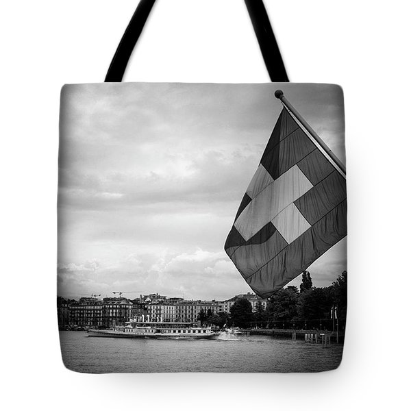 One More Day In Switzerland Until I Fly Tote Bag