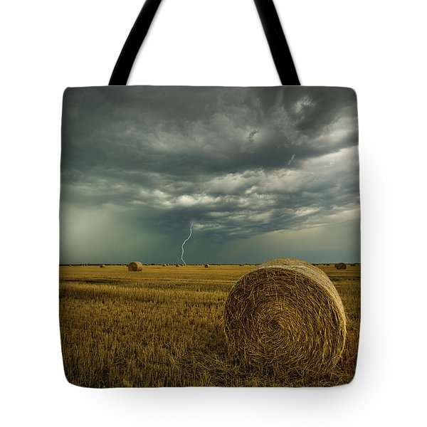 Tote Bag featuring the photograph One More Time A Round by Aaron J Groen