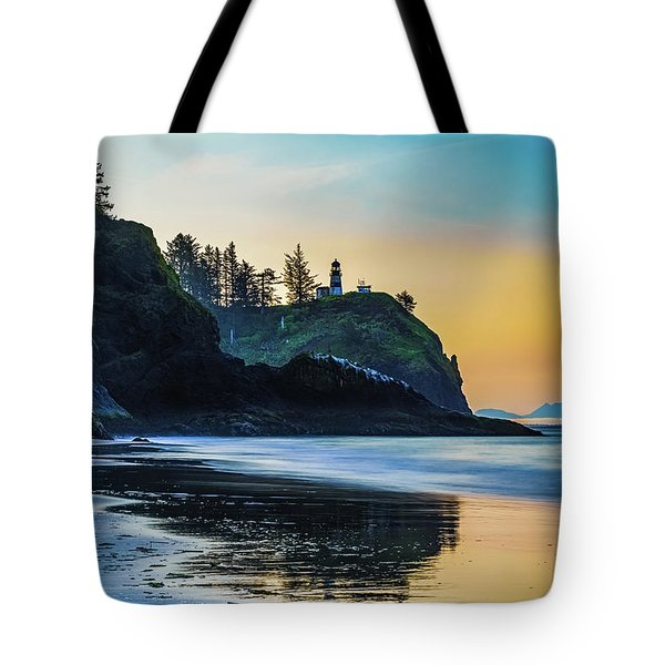 One Morning At The Beach Tote Bag