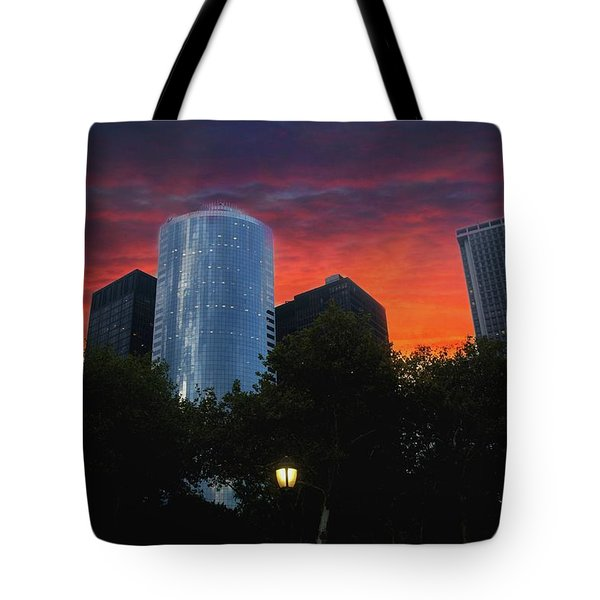 One New York Center-1 Tote Bag