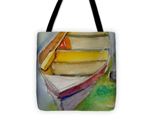 One Oar Gone Tote Bag by Ron Wilson