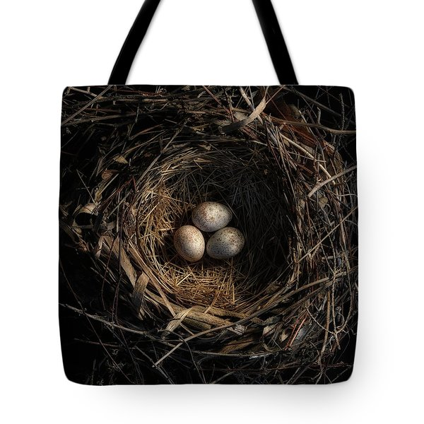 Tote Bag featuring the photograph One Of The Most Private Things In The World Is An Egg Until It Is Broken Mfk Fisher by Mark Fuller