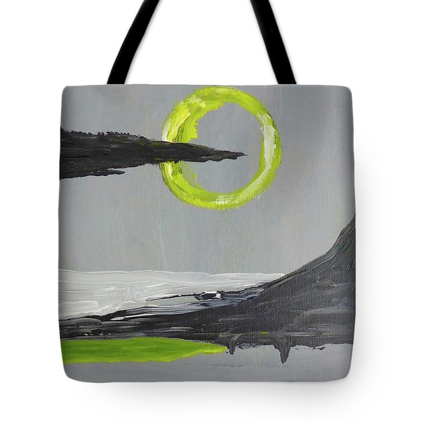 Tote Bag featuring the painting One Of Those Days by Victoria Lakes