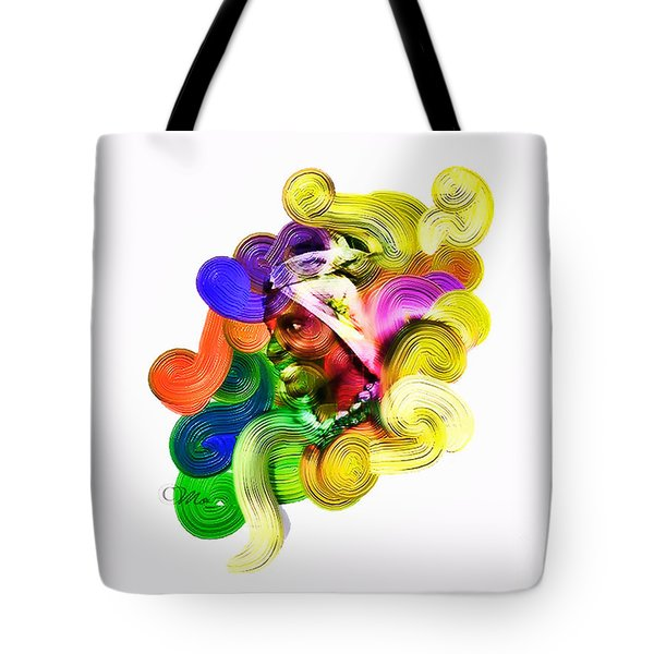 One Part 2 Tote Bag by Mo T