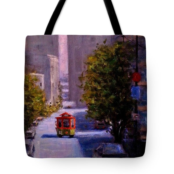 One Quiet Afternoon In San Francisco.. Tote Bag