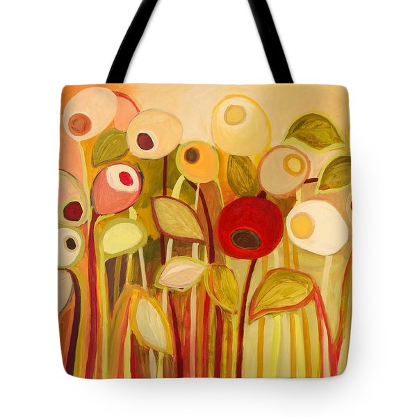 One Red Posie Tote Bag