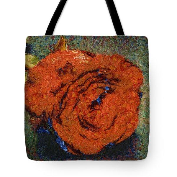 One Red Rose Tote Bag