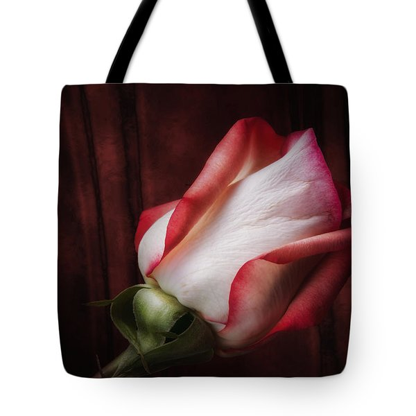 One Red Rose Still Life Tote Bag