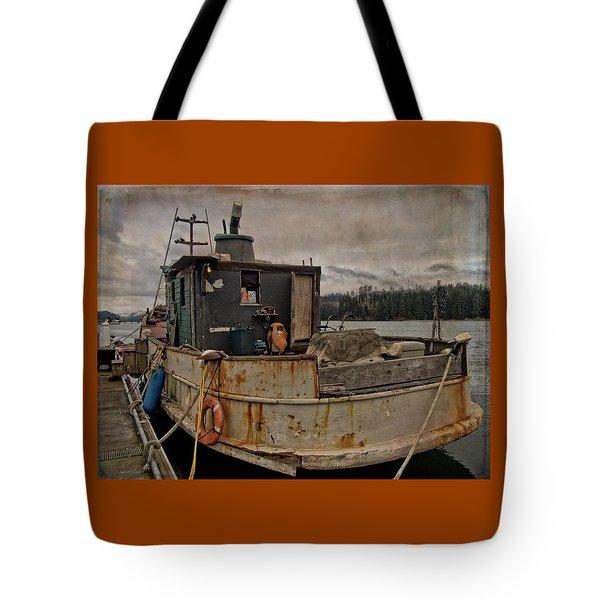 Tote Bag featuring the photograph One Salty Dog by Thom Zehrfeld