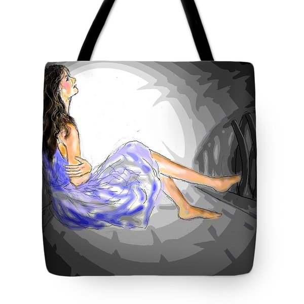 One Sided Dreams Tote Bag by Desline Vitto