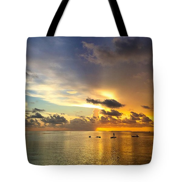 Tote Bag featuring the photograph One Summer Night... by Melanie Moraga