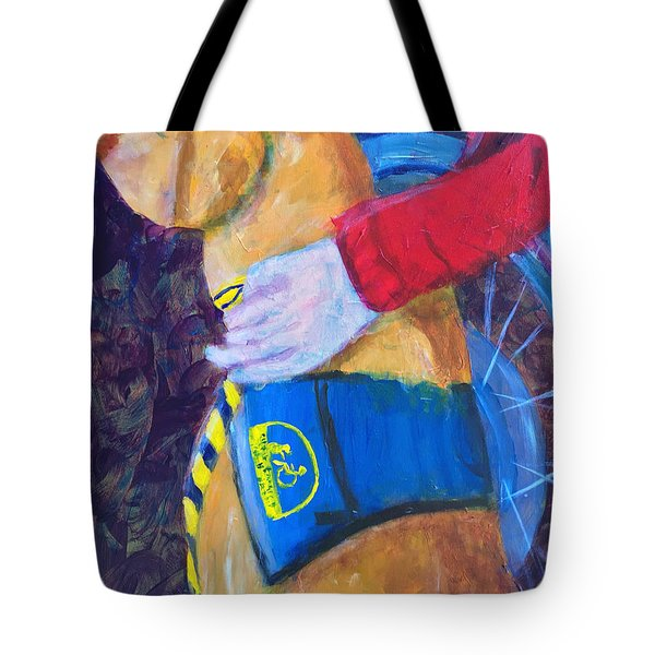 One Team Two Heroes 3 Tote Bag by Donald J Ryker III