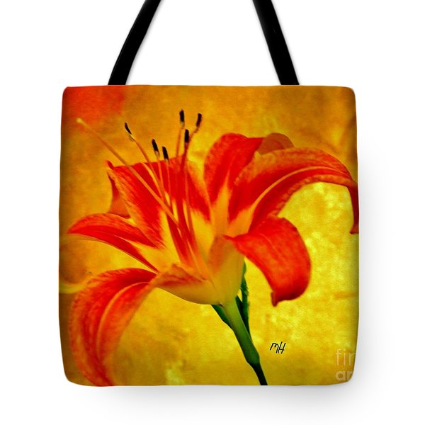 One Tigerlily Tote Bag