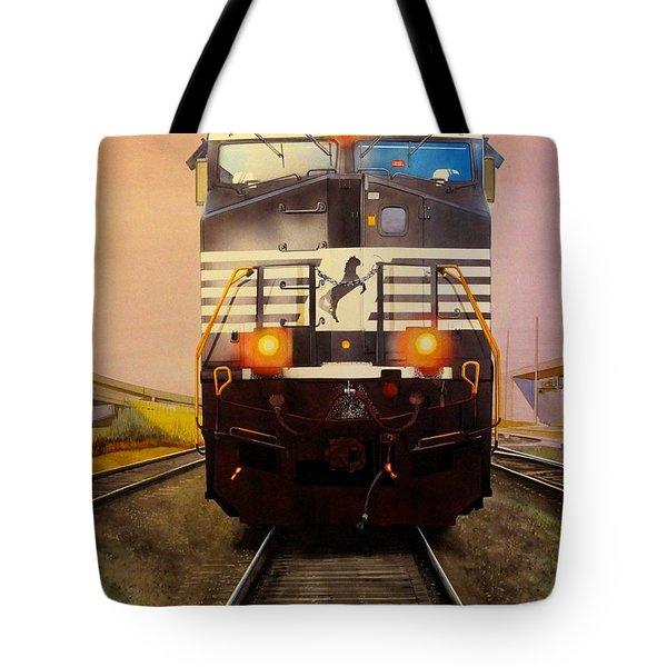 One Track Mind Tote Bag