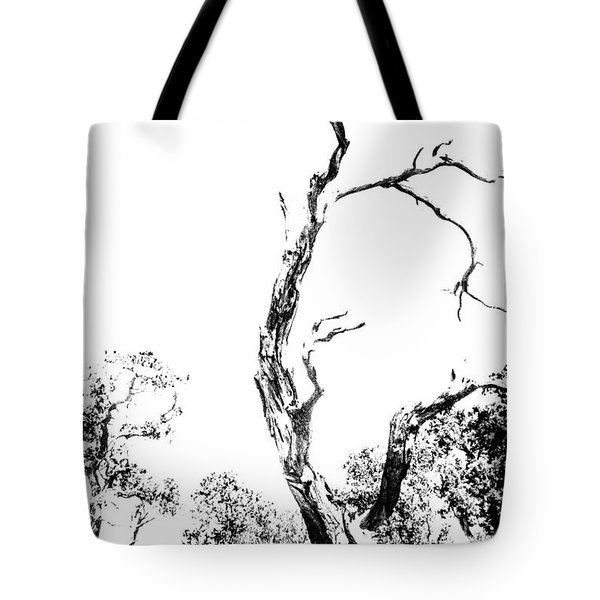 Tote Bag featuring the photograph One Tree - 0192 by G L Sarti