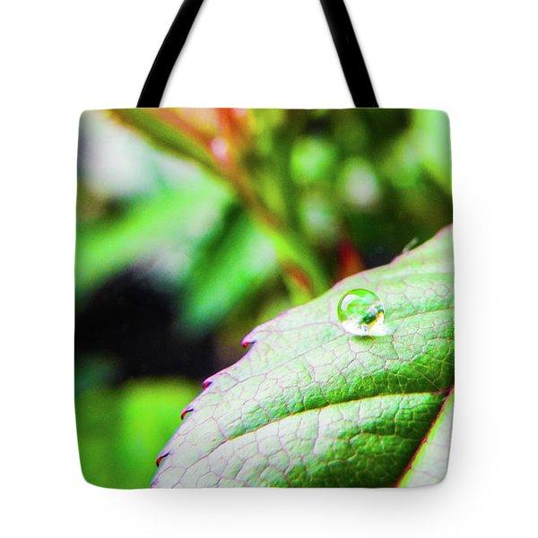 One Waterdrop Tote Bag by Cesar Vieira