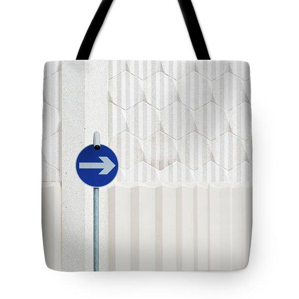 One Way 2 Tote Bag