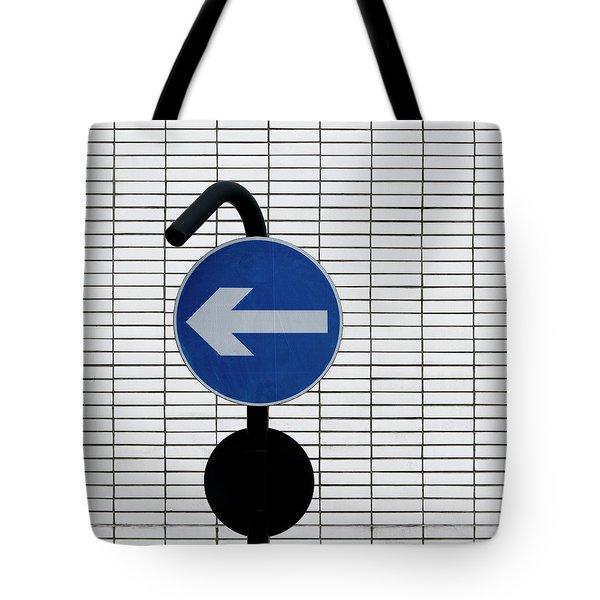 One Way 3 Tote Bag