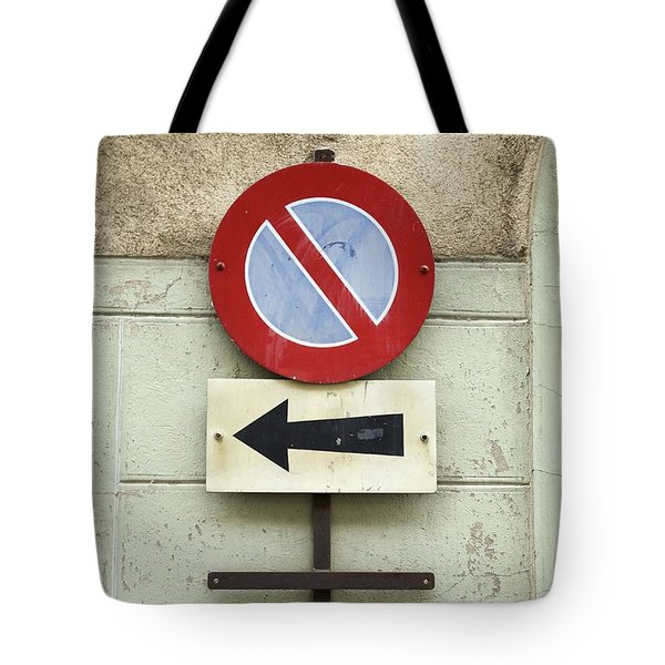 One Way  Tote Bag by Colleen Williams