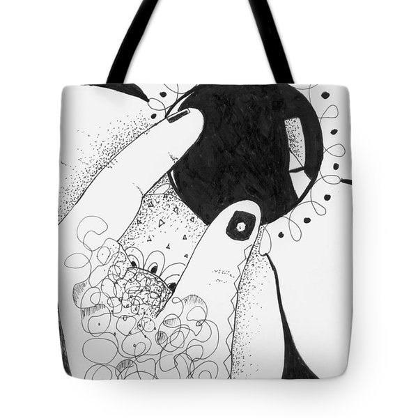 One Way Or Another Tote Bag by Helena Tiainen