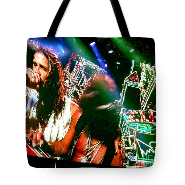 One Way Street. Aerosmith Live  Tote Bag