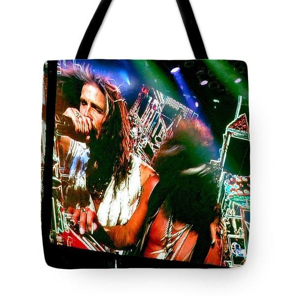 One Way Street. Aerosmith Live  Tote Bag