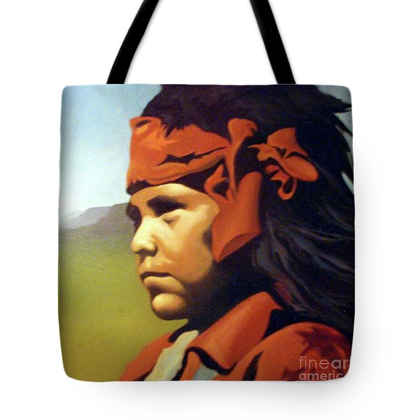 One Who Soars With The Hawk Tote Bag