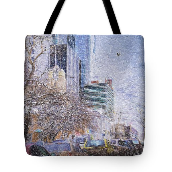 One Winter Day Tote Bag
