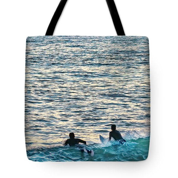 Tote Bag featuring the photograph One With The Sun by Dan McGeorge