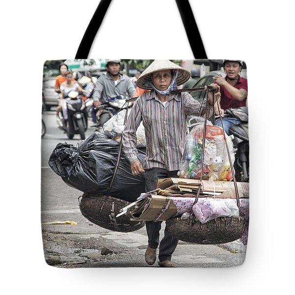 One Woman Street Life Hanoi Tote Bag