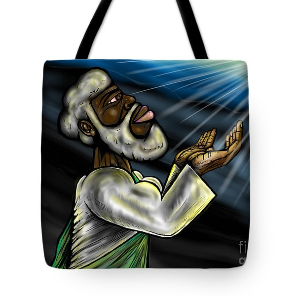 Oneness Of Christ And The Father Tote Bag