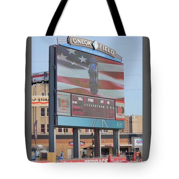 Oneok Field Tote Bag