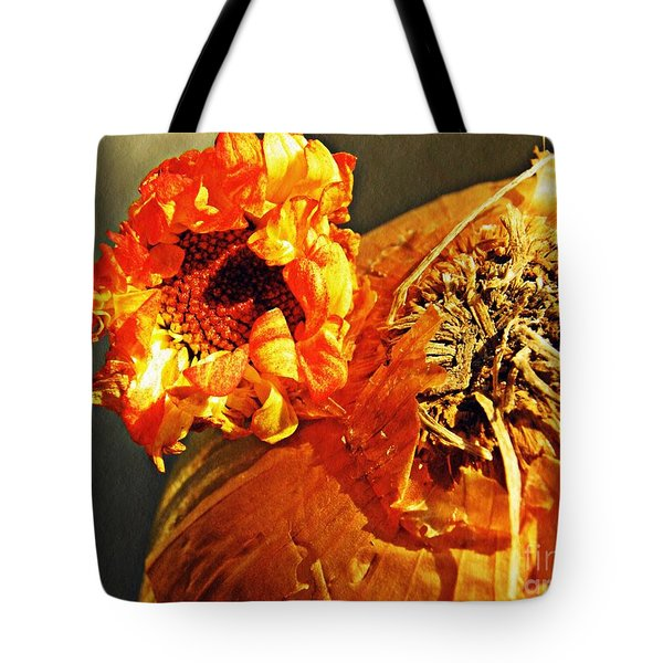 Onion And His Daisy Tote Bag by Sarah Loft
