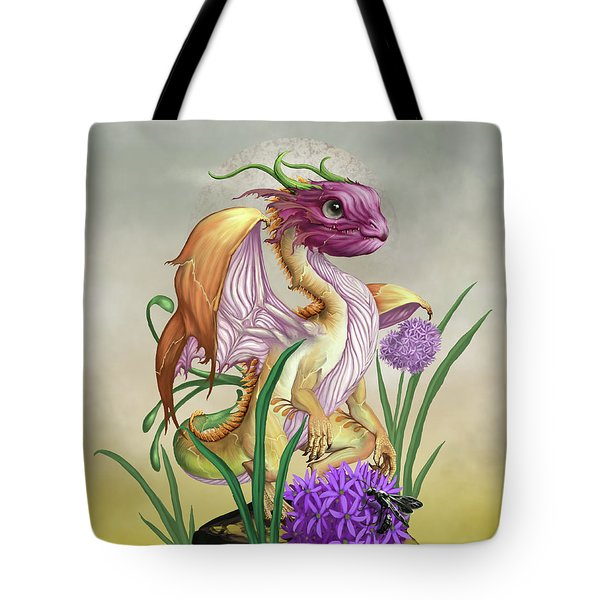 Onion Dragon Tote Bag