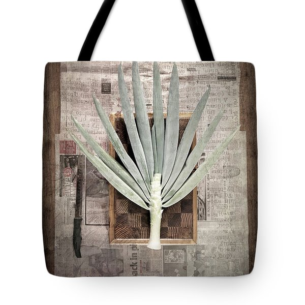 Tote Bag featuring the photograph Onion by Linda Lees