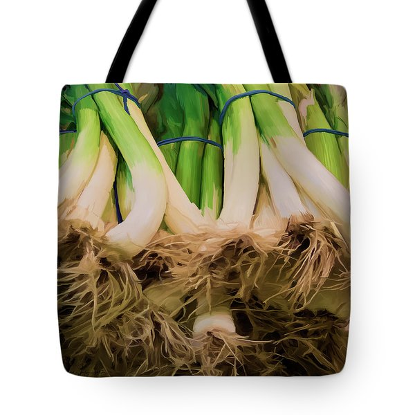 Onions 02 Tote Bag by Wally Hampton