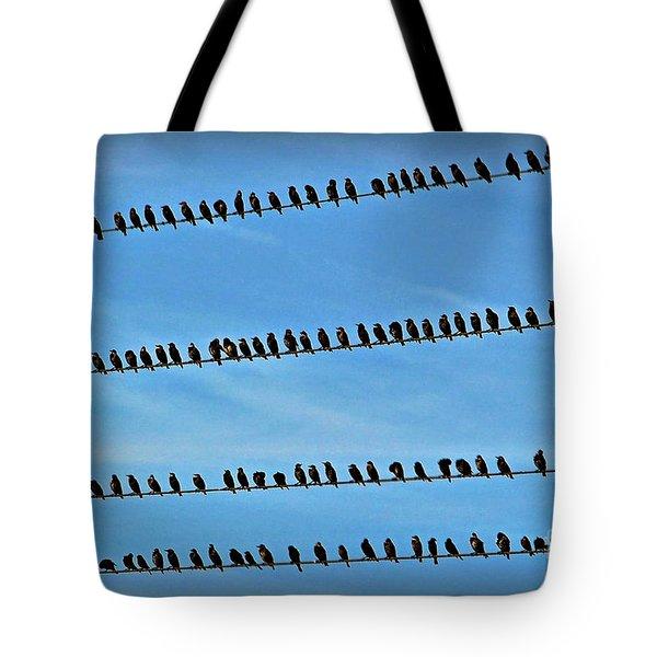 Online Birding Tote Bag