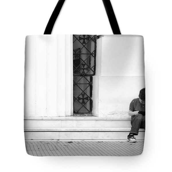 Online Tote Bag by Silvia Bruno