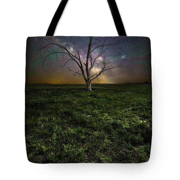 Tote Bag featuring the photograph Only by Aaron J Groen