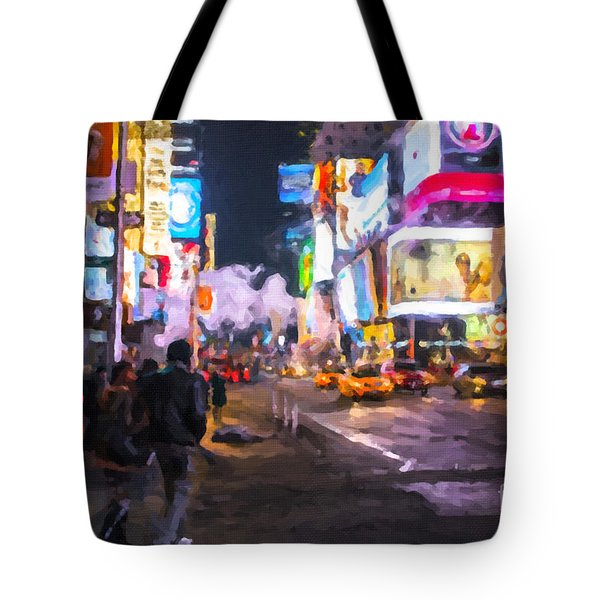 Only Go Out At Night ... Tote Bag by Chris Armytage