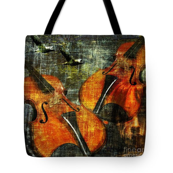 Only Music Heals A Broken Heart Tote Bag