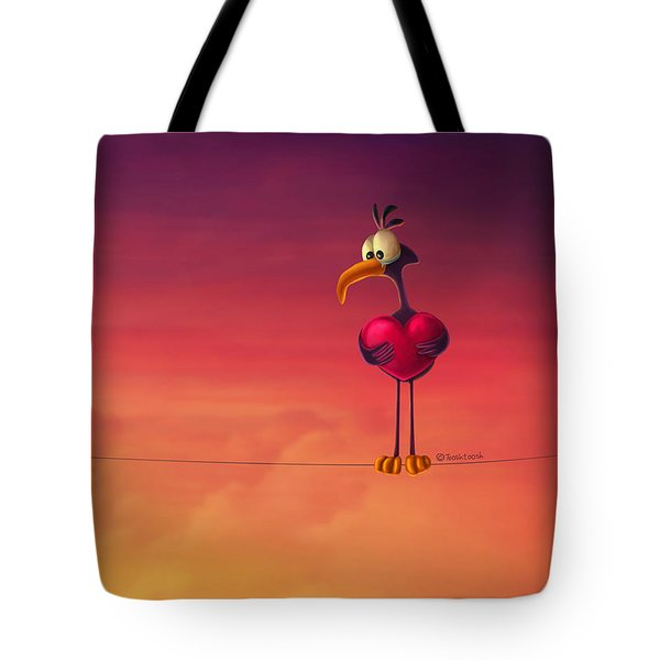 Only One Bird Tote Bag