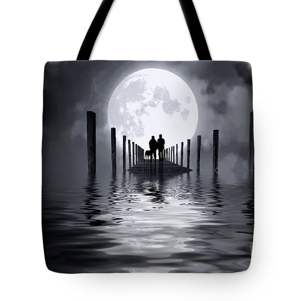 Only Us Tote Bag by Mim White