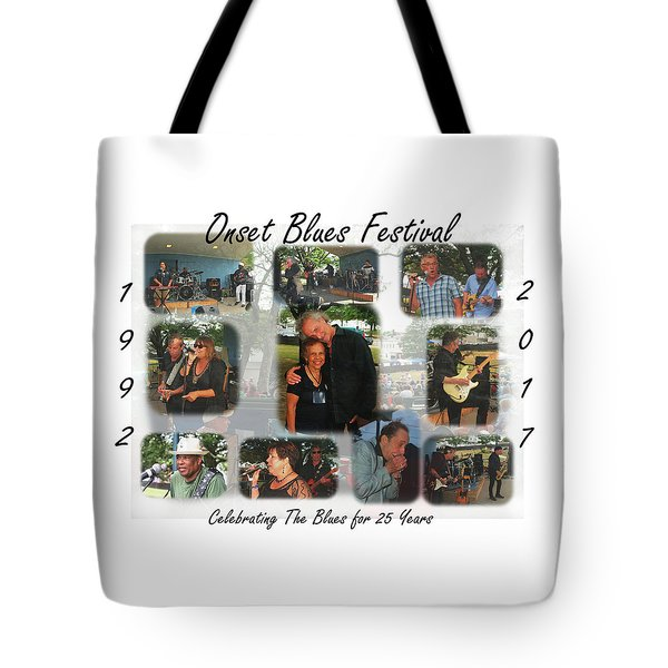 Onset Celebrates 25 Years Of Blues Tote Bag