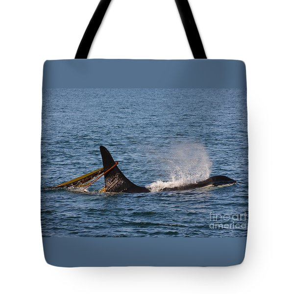 Onyx L87 Tote Bag by Gayle Swigart
