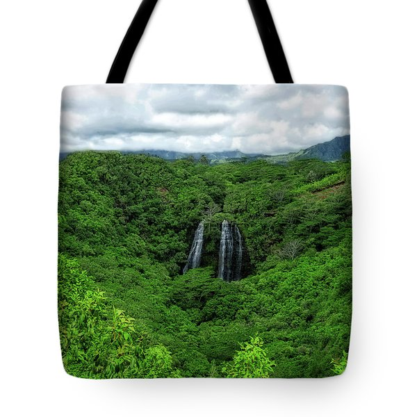 Opaeka Falls Tote Bag