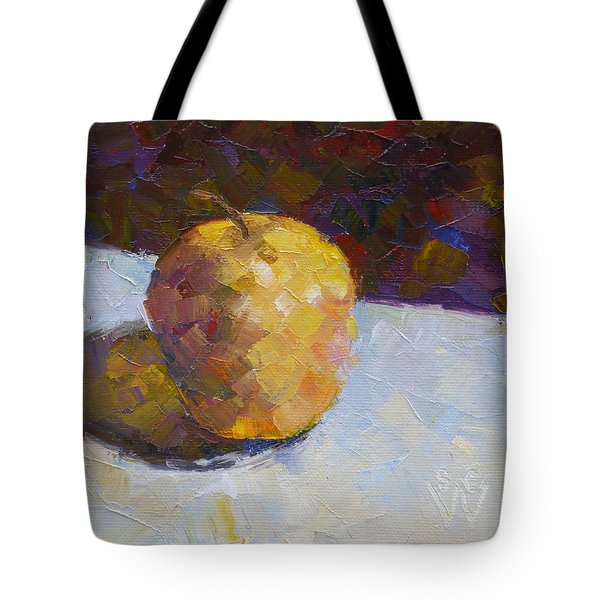 Opal In Gold Tote Bag