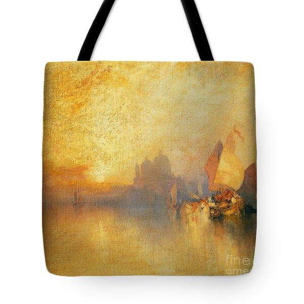 Opalescent Venice Tote Bag
